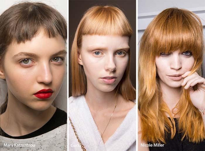 Стрижки 2017 модные тенденции на средние волосы без челки женские