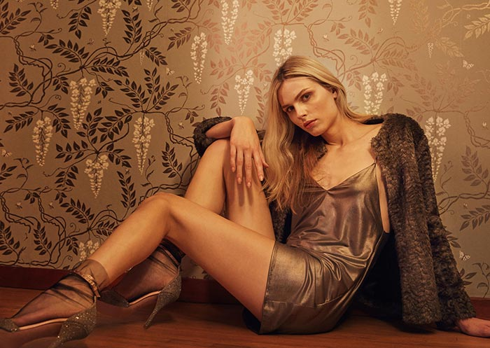 Andreja Pejic for Reformation Holiday 2016 Collection