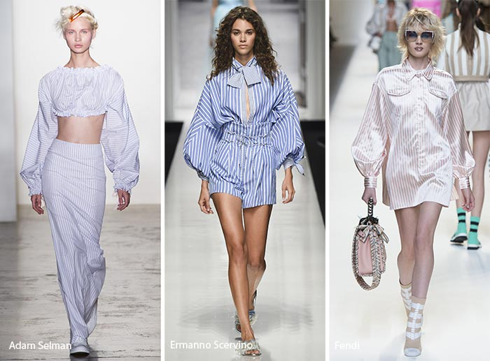 Spring/ Summer 2017 Print Trends: Pajama Stripes