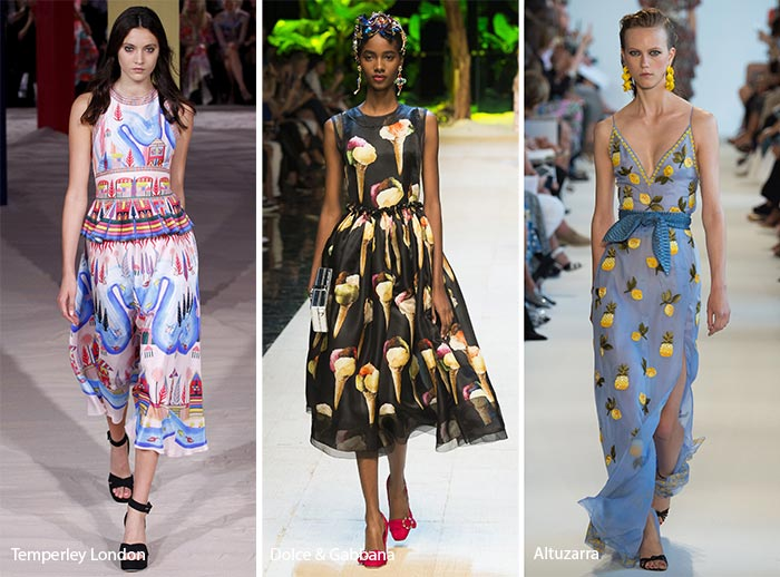 Spring/ Summer 2017 Print Trends: Pop Culture Patterns