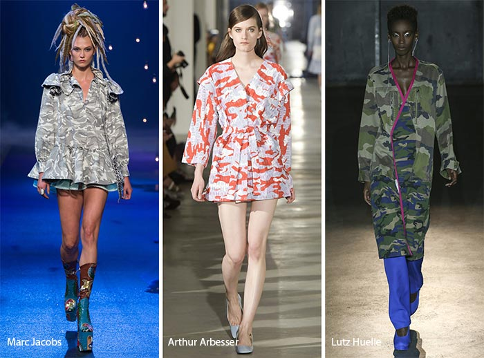 Spring/ Summer 2017 Print Trends: Camouflage Patterns