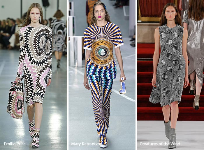 Spring/ Summer 2017 Print Trends: Optical Illusion Patterns