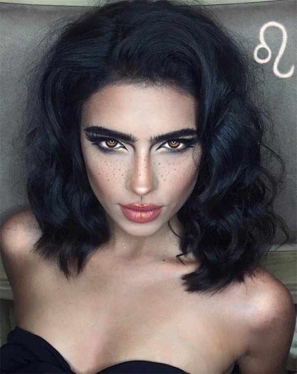 Makeup Looks for Every Zodiac Sign: Leo