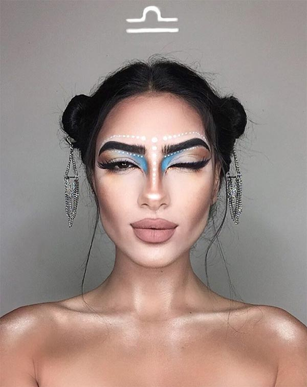 Makeup Looks for Every Zodiac Sign: Libra