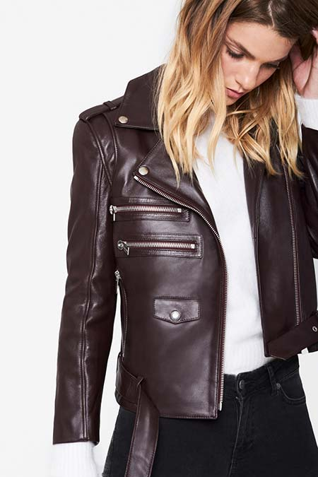 Trendy Moto Jackets for 2016-2017: Anine Bing Biker Jacket