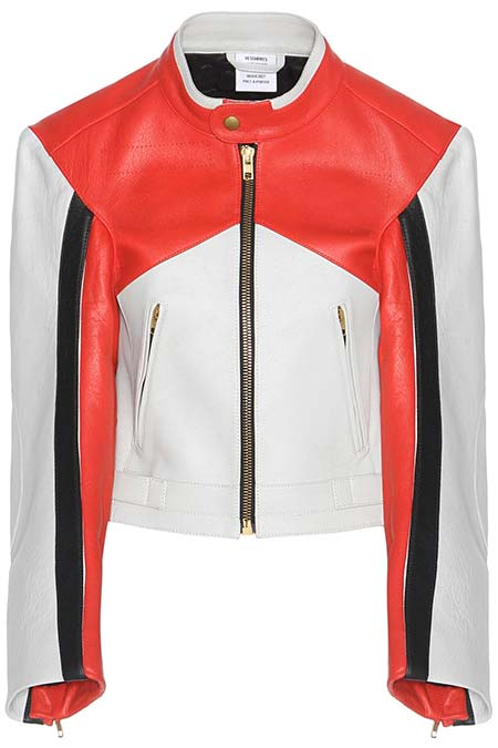 Trendy Moto Jackets for 2016-2017: Vetements Biker Jacket