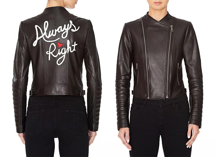 Trendy Moto Jackets for 2016-2017: Alice + Olivia Biker Jacket