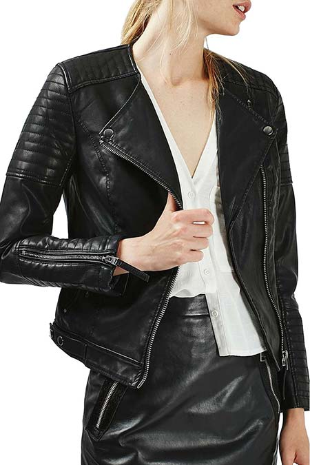 Trendy Moto Jackets for 2016-2017: Topshop Biker Jacket