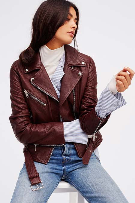 Trendy Moto Jackets for 2016-2017: Free People Biker Jacket