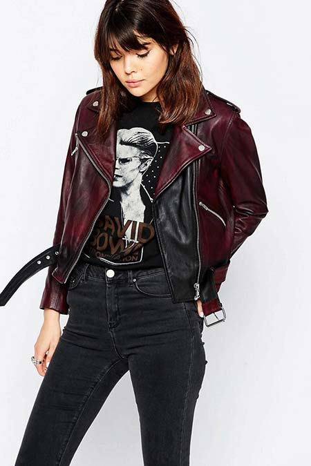 Trendy Moto Jackets for 2016-2017: ASOS Biker Jacket