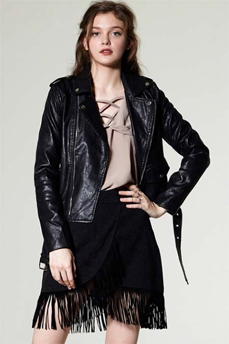 Trendy Moto Jackets for 2016-2017: Storets Biker Jacket