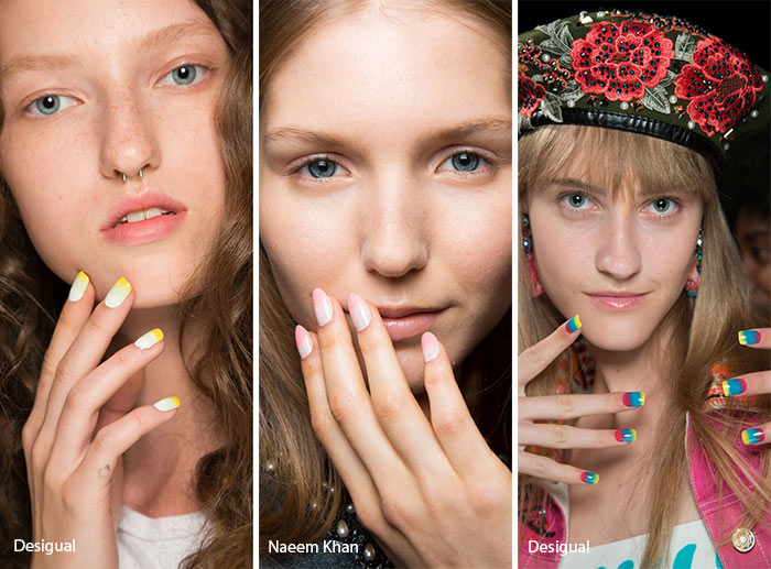 Spring/ Summer 2017 Nail Trends: Ombre Nail Art