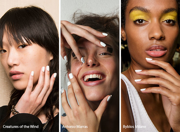 Spring/ Summer 2017 Nail Trends: White Nail Polish