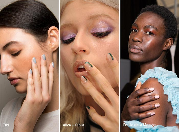 Spring/ Summer 2017 Nail Trends: Short & Rounded Nails