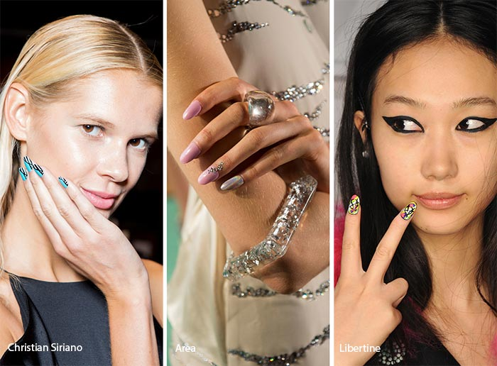 Spring/ Summer 2017 Nail Trends: Oval Nails
