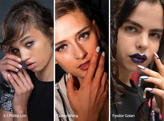 Spring/ Summer 2017 Nail Trends: Layering Two Colors