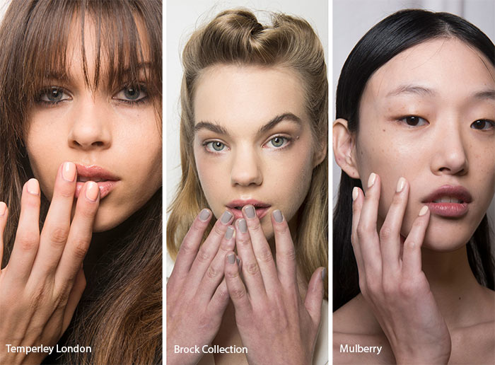 Spring/ Summer 2017 Nail Trends: Nude Nails