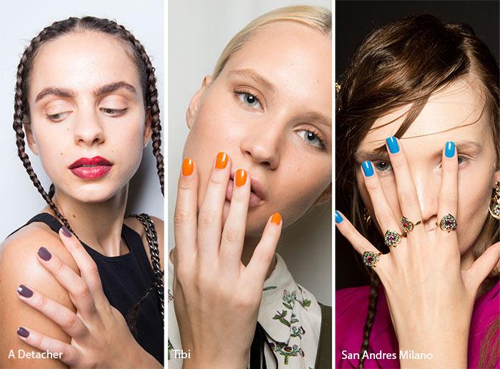 Spring/ Summer 2017 Nail Trends: Glossy Nail Polish