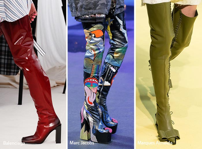 Spring/ Summer 2017 Shoe Trends: Thigh-High Boots