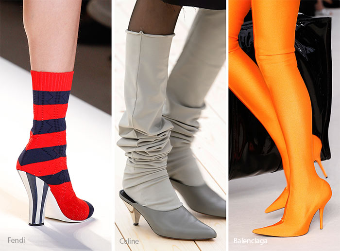 Spring/ Summer 2017 Shoe Trends: Sock Boots