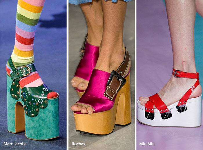 Spring/ Summer 2017 Shoe Trends: Platform Shoes