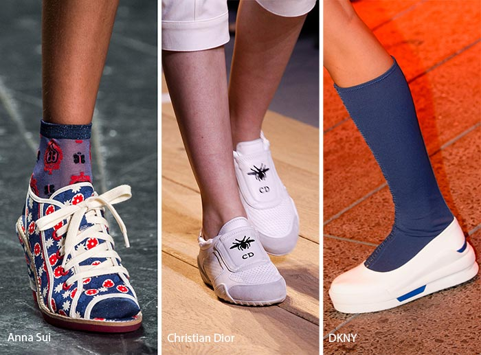 Spring/ Summer 2017 Shoe Trends: Sports Shoes