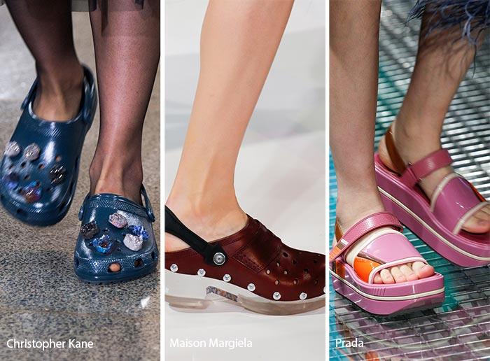 Spring/ Summer 2017 Shoe Trends: Ugly Shoes & Crocs