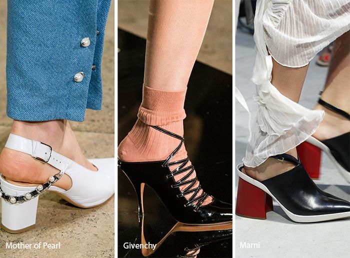 Spring/ Summer 2017 Shoe Trends: Open-Back Shoes