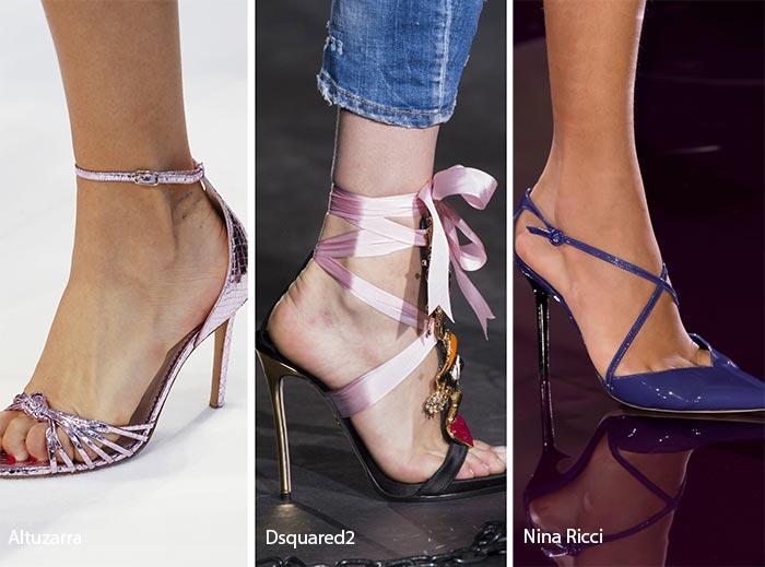 Spring/ Summer 2017 Shoe Trends: Stiletto Heels