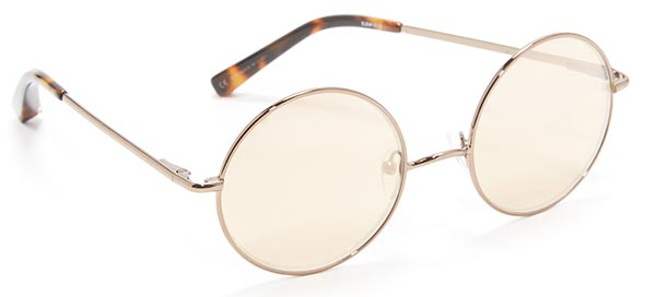 Best 2017 Round Sunglasses for Women: Elizabeth and James Round Sunglasses