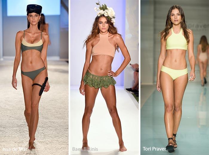 Spring/ Summer 2017 Swimwear Trends: Athletic/ Sporty Swimsuits/ Bikinis
