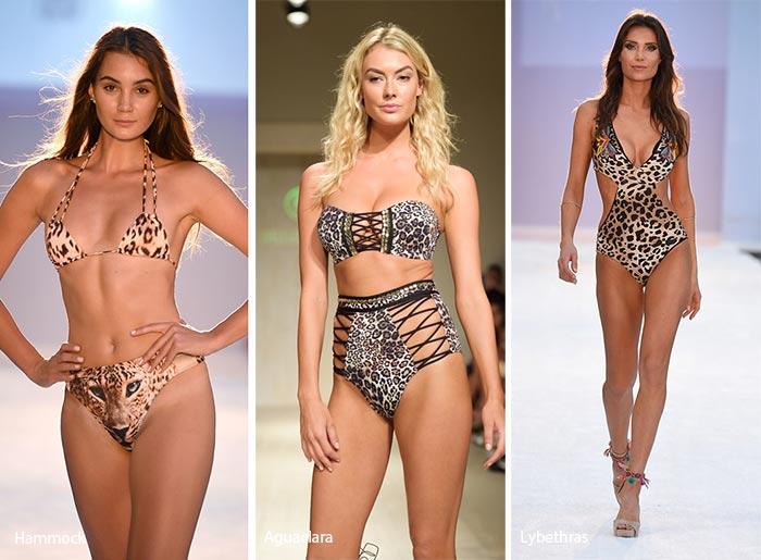 Spring/ Summer 2017 Swimwear Trends: Animal-Print Swimsuits/ Bikinis