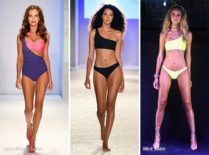 Spring/ Summer 2017 Swimwear Trends: One-Shoulder-Off Swimsuits