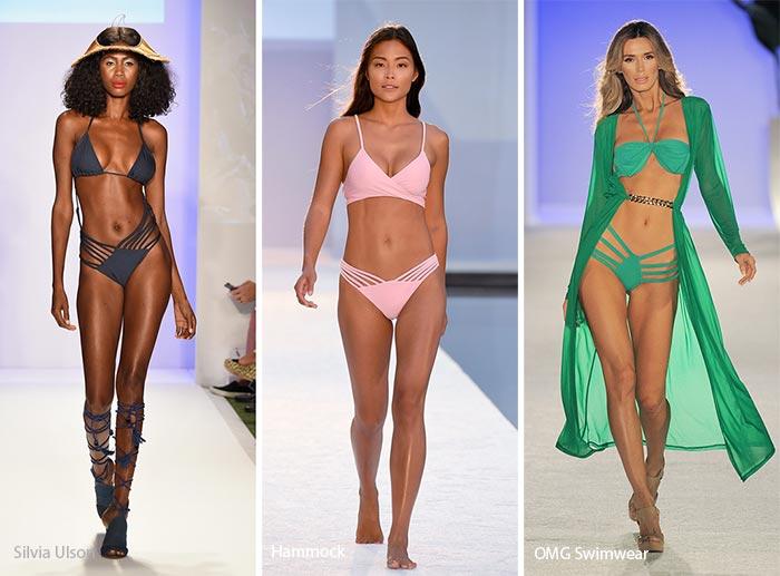 Spring/ Summer 2017 Swimwear Trends: Strings on Steroids Bikinis