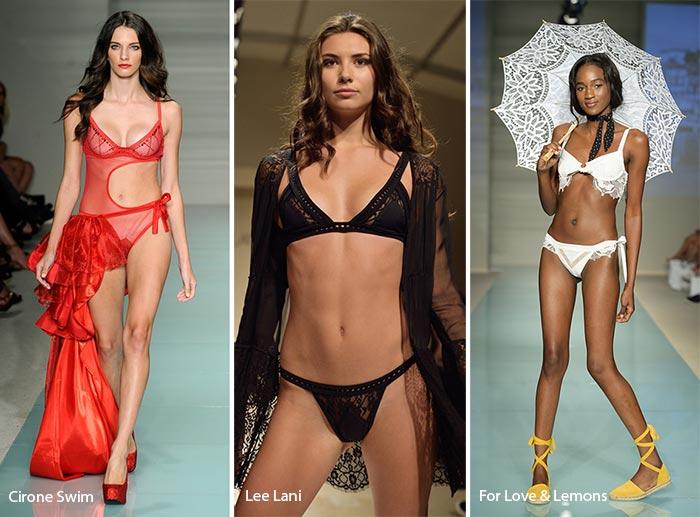 Spring/ Summer 2017 Swimwear Trends: Lingerie-Style Swimsuits/ Bikinis