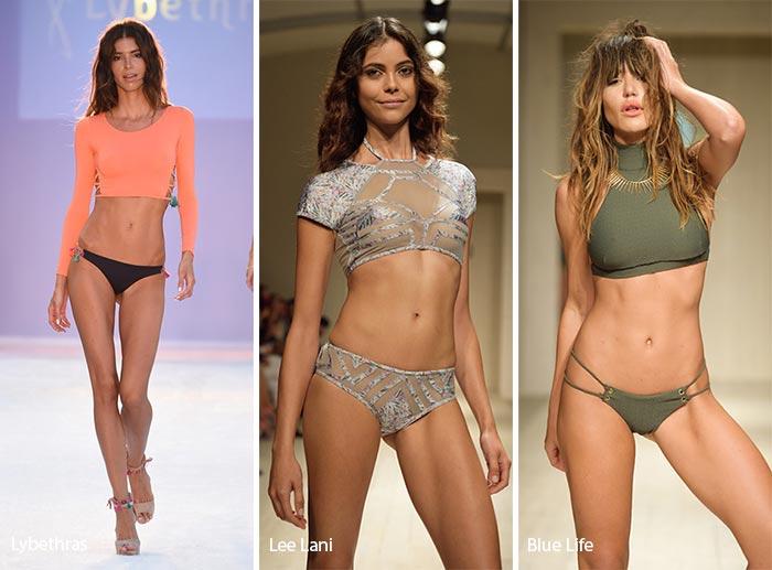 Spring/ Summer 2017 Swimwear Trends: Crop Tops