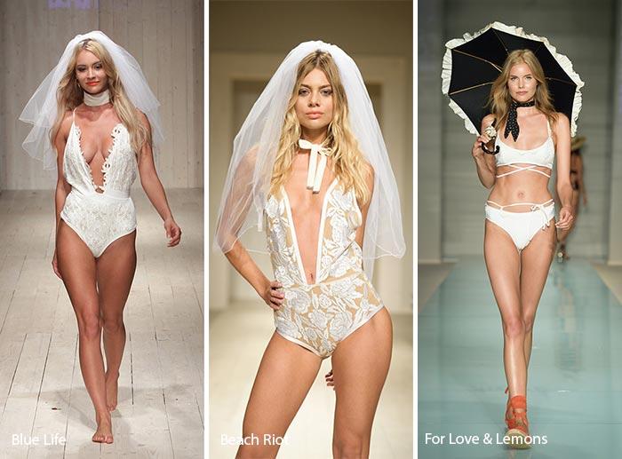 Spring/ Summer 2017 Swimwear Trends: Bridal Swimsuits/ Bikinis