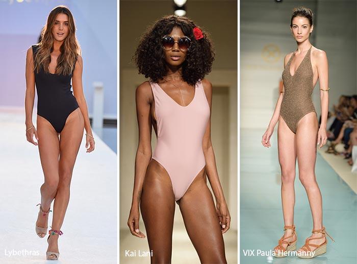 Spring/ Summer 2017 Swimwear Trends: One-Piece Swimsuits