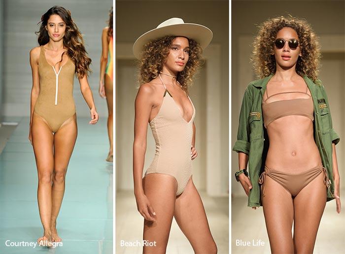 Spring/ Summer 2017 Swimwear Trends: Nude Swimsuits/ Bikinis