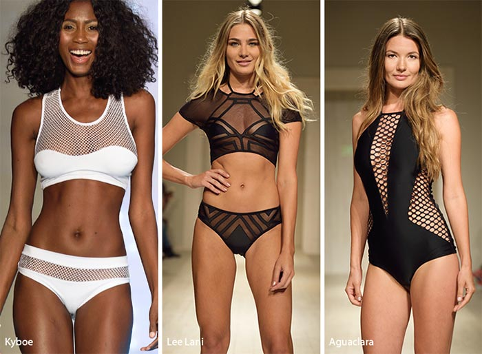 Spring/ Summer 2017 Swimwear Trends: Swimsuits with Sheer Inserts