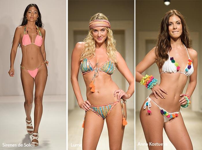 Spring/ Summer 2017 Swimwear Trends: String Bikinis