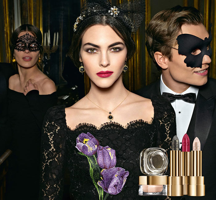 Dolce & Gabbana Baroque Night Out Holiday 2016 Makeup Collection