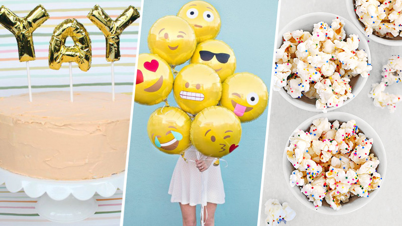 Chic Fun Birthday Party Ideas For S