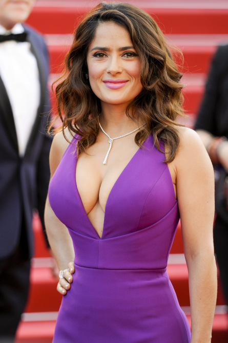 68th Annual Cannes Film Festival - 'Carol' - Premiere Featuring: Salma Hayek Where: Cannes, France When: 17 May 2015 Credit: WENN.com