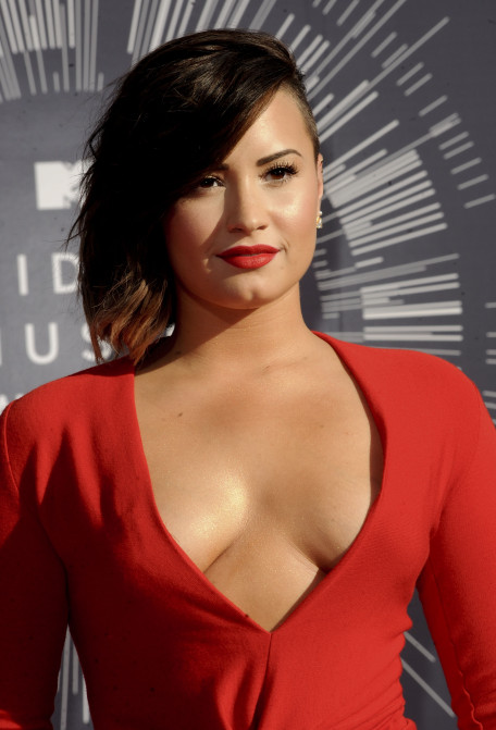 The 2014 MTV Video Music Awards arrivals Featuring: Demi Lovato Where: Los Angeles, California, United States When: 25 Aug 2014 Credit: Apega/WENN.com