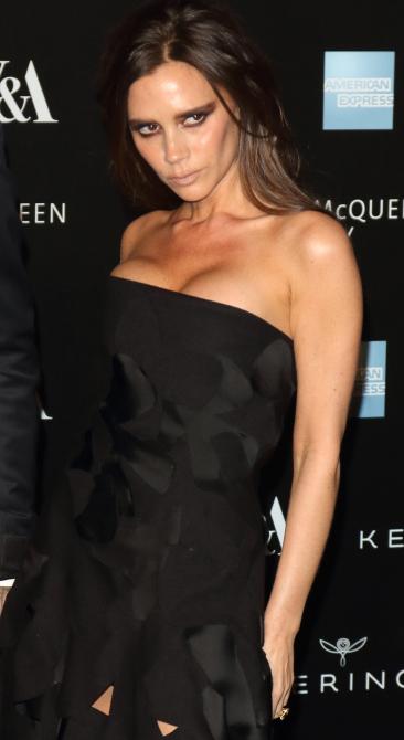 Alexander McQueen: Savage Beauty Fashion Benefit Dinner, V&A Museum, London Featuring: Victoria Beckham Where: London, United Kingdom When: 12 Mar 2015 Credit: WENN.com