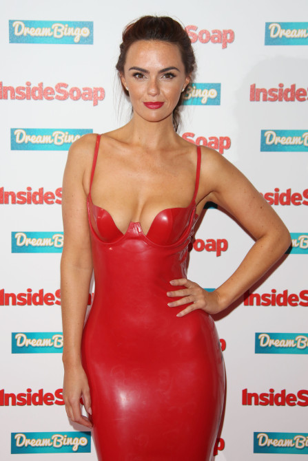 Inside Soap Awards held at DSTRKT London - Arrivals Featuring: Jennifer Metcalfe Where: London, United Kingdom When: 05 Oct 2015 Credit: Lia Toby/WENN.com