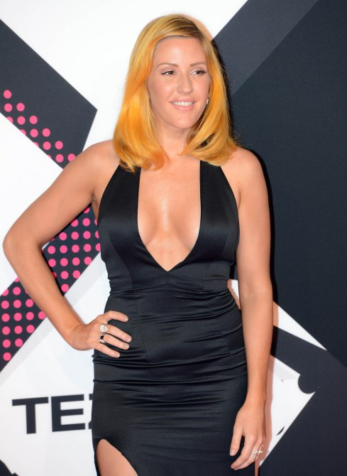 The 2015 MTV EMAs (European Music Awards) held at the Mediolanum Forum in Milan - Arrivals Featuring: Ellie Goulding Where: Milan, Italy When: 25 Oct 2015 Credit: Rene Rossignaud/WENN.com