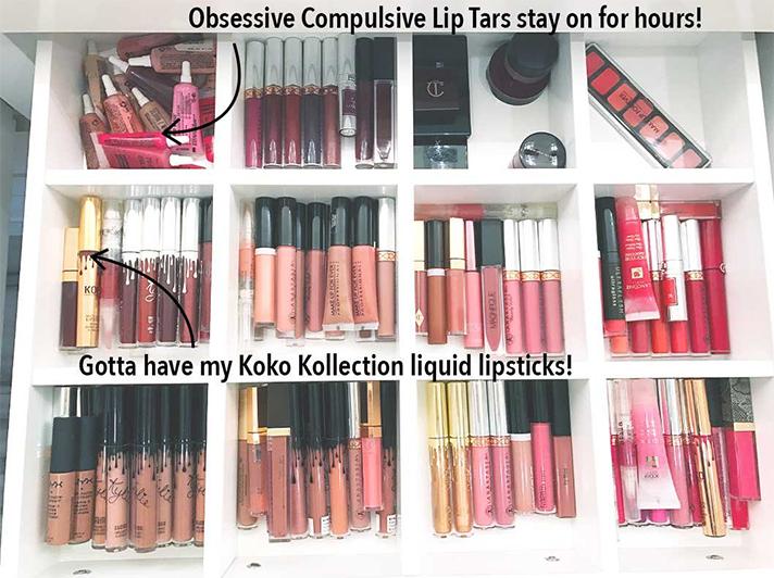Khloe Kardashian S Makeup Storage Organization Flashmode