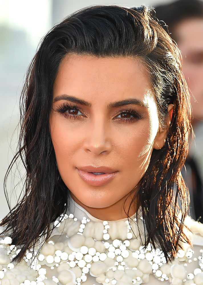 Kim Kardashians Haircut Images Haircuts For Men And Women